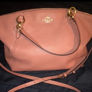 Coach Kelsey Satchel Used with phone wallet!